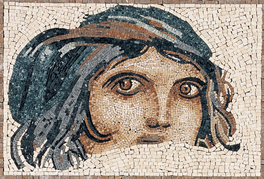 Montaje real de Mosaico Pierdekor